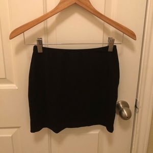 Medium Black Mini Skirt from American Apparel